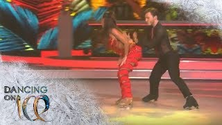 Sarah Lombardi Bringt Mit Feurigen Salsa-Beats Alle Zum Schwitzen   Finale   Dancing On Ice   SAT.1