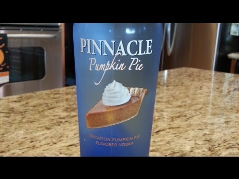 Vodka Review: Pinnacle Pumpkin Pie Vodka