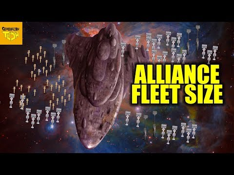 How BIG is the REBEL FLEET?