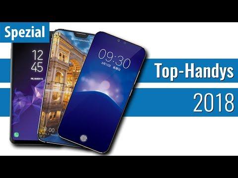 Diese TOP-SMARTPHONES kommen 2018!
