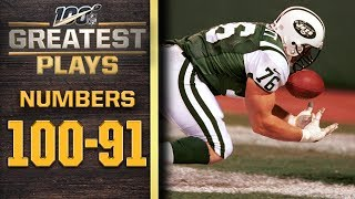 100 Greatest Plays: Numbers 100-91   NFL 100