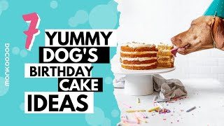 Top 7 QUICK & EASY Home Made Dog Cake Ideas  To Try On Your Dogs Birthday || Monkoodog