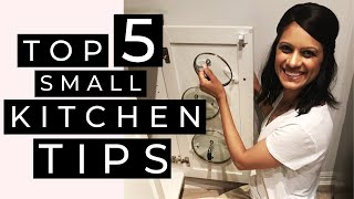 SMALL KITCHEN ORGANIZATION HACKS | Easy Ways to Maximize Your Space