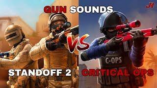 Gun Sounds   Standoff 2 vs Critical Ops
