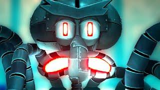 SpongeBob Battle for Bikini Bottom Rehydrated Squidward Full Boss Battle - 2 Player - Multiplayer