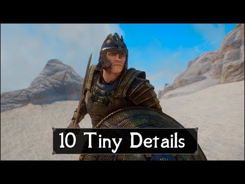 Skyrim: Yet Another 10 Tiny Details That You May Still Have Missed in The Elder Scrolls 5 (Part 49)