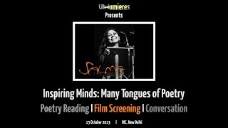 LILA Lumieres l SALMA: Inspiring Minds - The Many Tongues of Poetry