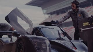 Mateusz Kaprzyk - Ligier LMP3 - Circuit de Barcelona-Catalunya