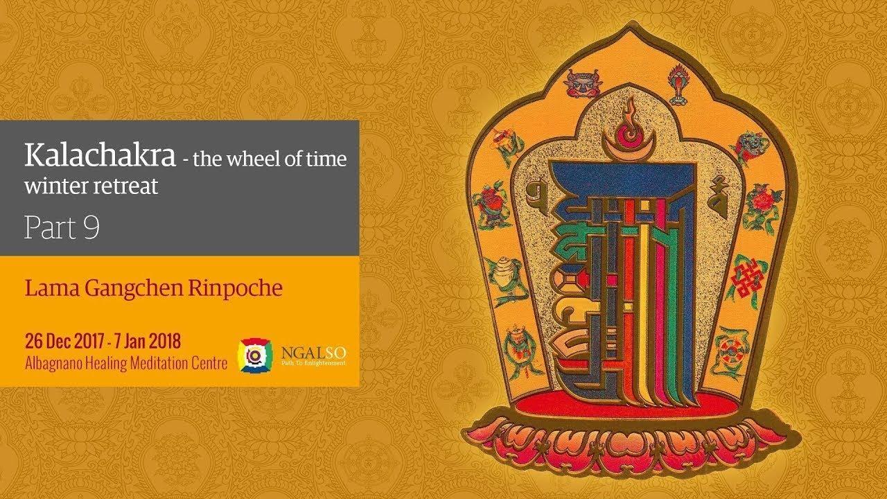 Kalachakra Festival –The Wheel of Time - winter retreat - part 8