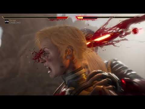 Mortal Kombat 11 Cassie Cage vs Sonya