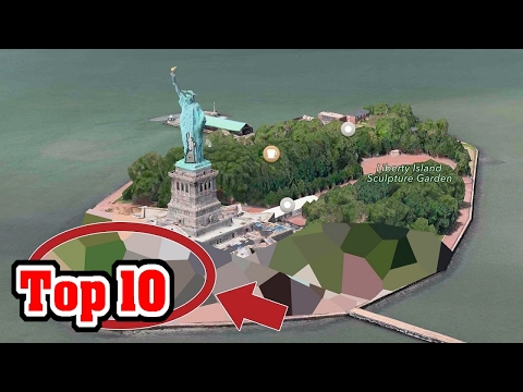 Video Top 10 Places GOOGLE EARTH Is HIDING FROM YOU