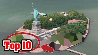 Top 10 Places Google Maps Is Hiding From Us