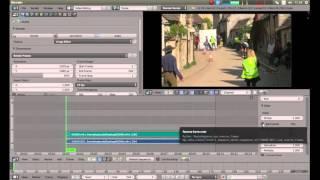 Blender Beginners Tutorial: Reverse A Video Clip In The Video Editor