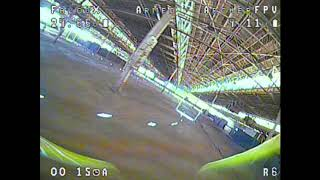 That Time Loft Took Out The Gate. FPV LED Racing SELAFPVie MultiGP