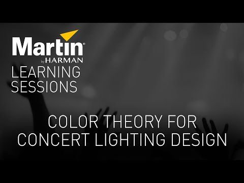 Color Theory for Concert Lighting Design with Craig Rutherford - Webinar