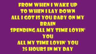 Spending All My Time Loving You-Aaron Fresh lyrics