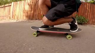 Landyachtz Tugboat Bengal UV Skateboard Cruisin (GOPRO HERO 7)