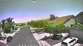 Finally out flying FPV again.