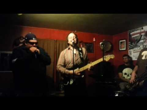 L.O.S. (Left Over Soul) with guest harmonica player, Jonny Harpburn