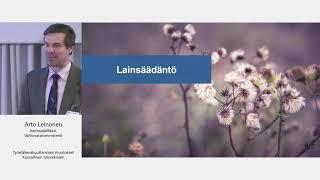 Arto Leinonen: Kansallinen tulorekisteri