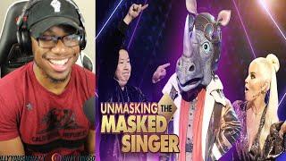 The Masked Singer Season 3 Rhino: Clues Performance Unmasking REACTION!