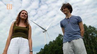 Else en Remy zijn juist vóór Rondeveense windmolens: 'Zet ze maar voor mijn deur'