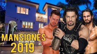 LAS 10 MEJORES MANSIONES DE LUCHADORES DE WWE EN 2019
