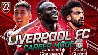 FIFA 19 LIVERPOOL CAREER MODE #22 - CHAMPIONS LEAGUE SEMI-FINAL & TITLE DECIDER!