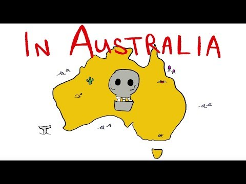 Funny song about the wild life of Australia