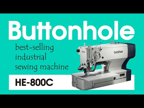 Buttonhole sewing machine HE-800C