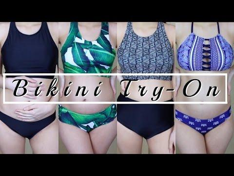 Affordable Bikini Try On Haul | Pregnancy Edition