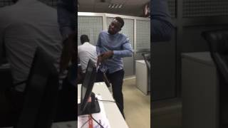 Shatta Wale - Taking Over in the Office mad
