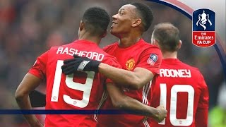 Manchester United 4-0 Reading - Emirates FA Cup 2016/17 (R3) | Goals & Highlights