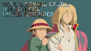 Gambar cover Howl's Moving Castle Main Theme(Merry Go Round of Life) 1 Hour Extended