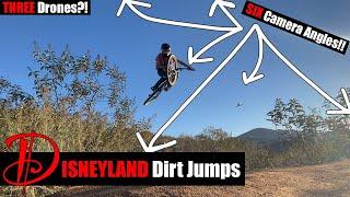 Secret Disneyland Dirt Jumps | FPV Drones x Mountain Biking