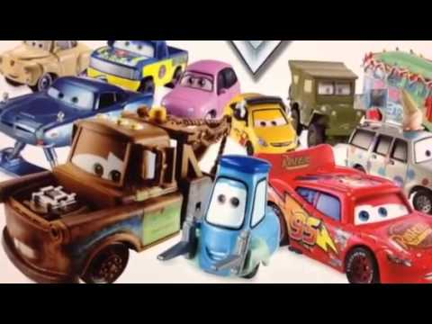 Disney Pixar Cars Characters Encyclopedia -Lighting McQueen, Mater And More By DisneyToyCollection