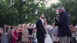 Emily Maynard + Tyler Johnson | Surprise Wedding Film by Heart Stone Films