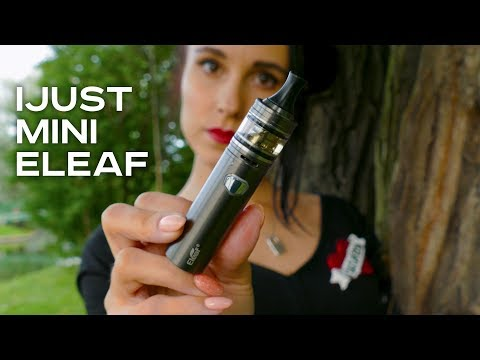 Eleaf iJust Mini (1100mAh) - набор - видео 1