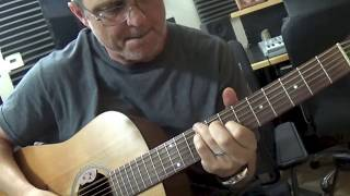 Conviction Of The Heart (guitar chords demonstration) by Guy Thomas