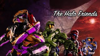 Halo friends finish the fight (Halo 3 Friends Highlights)