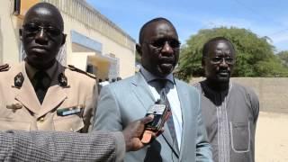 Abdoul Niang, ancien président amical enfants de troupe.Prytanée Militaire de Saint-Louis 2013