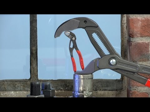 From the KNIPEX workshop: Water Pump Pliers