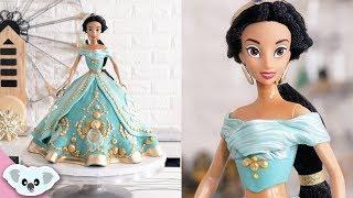 PRINCESS JASMINE CAKE | Doll Cake | Aladdin | Cake Art | Koalipops