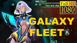 Galaxy Fleet: Alliance War Game Review 1080P Official Mcsfun Strategy 2016
