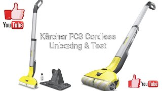 Kärcher FC3 Cordless Unboxing Test und Fazit