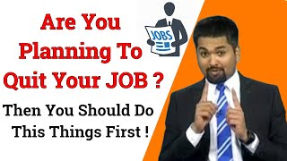 What to do before quitting your job | Money Doctor Show English | EP : 174