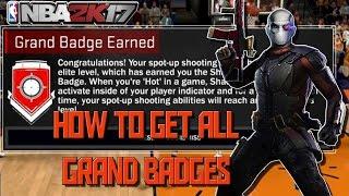 nba 2k17 unlock badges