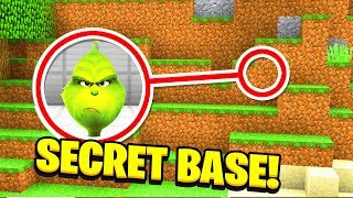 Minecraft : We found the GRINCH'S SECRET BASE! (Ps3/Xbox360/PS4/XboxOne/PE/MCPE)