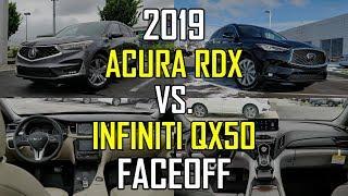 2019 Acura RDX Advance vs. 2019 Infiniti QX50 Essential: Faceoff Comparison | Kholo.pk