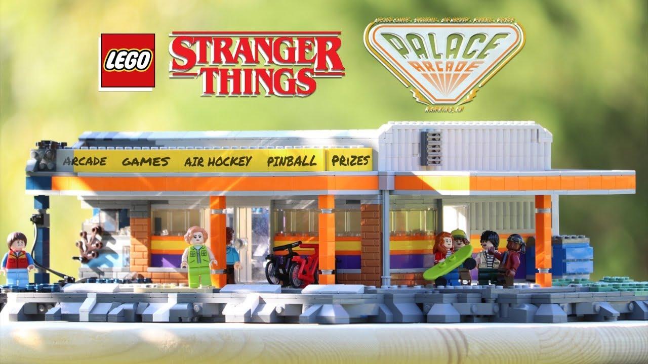 LEGO PALACE ARCADE From STRANGER THINGS! // Custom LEGO MOC